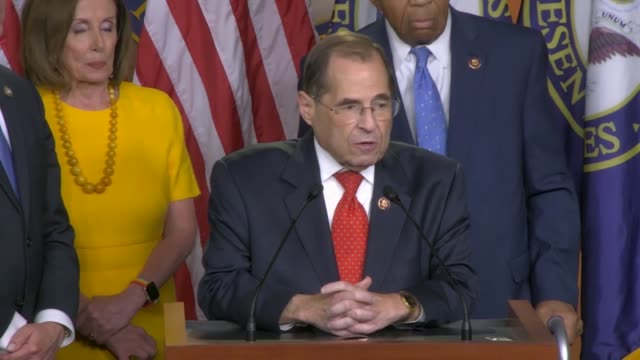house judiciary committee chairman jerrold nadler says after former special counsel robert mueller testified before two to proceed facing a time of... - dictator stock videos and b-roll footage