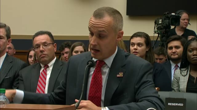 house judiciary committee chairman jerry nadler asks former trump campaign manager corey lewandowski in a continuing line of questioning that the... - assertiveness stock videos & royalty-free footage