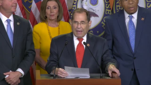 house judiciary committee chairman jerry nadler says after former special counsel robert mueller testified before two committees that the american... - former stock videos and b-roll footage