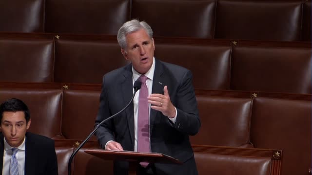 House Majority Leader Kevin McCarthy of California says that Maryland Congressman Steny Hoyer showed a lack of courage by voting present on a bill...