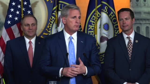 House Majority Leader Kevin McCarthy says that with everyone getting presents for Valentine's Day the opportunity for Americans to check their checks...