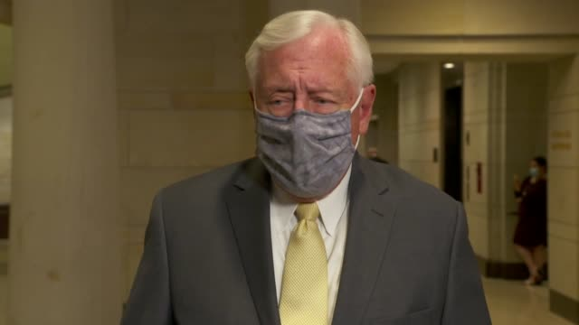 house majority leader steny hoyer tells reporters before attending a house judiciary committee hearing that he had that his statement he calls... - {{relatedsearchurl(carousel.phrase)}} stock videos & royalty-free footage