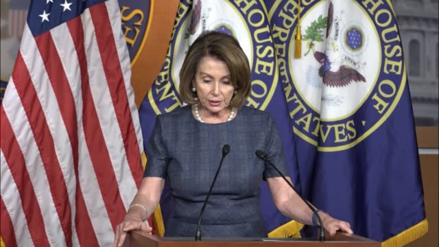House Minority Leader Nancy Pelosi of California says a second order issued by the Trump administration days earlier would reinstate a ban on Muslims...
