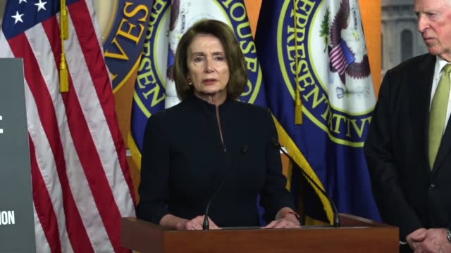 House Minority Leader Nancy Pelosi of California says after a mass shooting at Marjory Stoneman Douglas High School in Parkland Florida that attacks...
