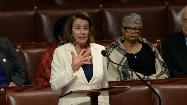 stockvideo's en b-roll-footage met house minority leader nancy pelosi of california says there have been 40 hours a strong biblical number 40 years in the desert for jews and moses 40... - religieuze illustratie