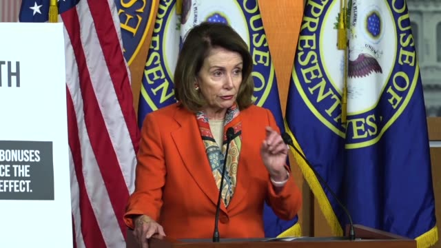 house minority leader nancy pelosi of california tells reporters at a weekly briefing that the gop would cut the snap program and one provision alone... - food stamps stock videos & royalty-free footage