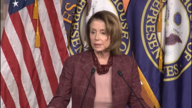 house minority leader nancy pelosi of california tells reporters that in the three years since the shooting at sandy hook elementary school in... - newtown connecticut stock videos & royalty-free footage