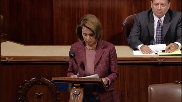 House Minority Leader Nancy Pelosi says that the attack of September 11 shattered the safety of American citizens says the United States rose from...