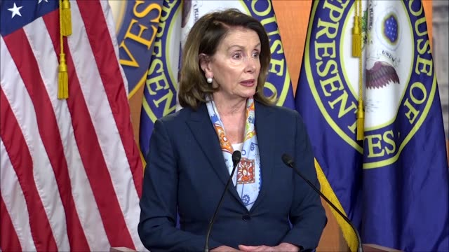 house minority leader nancy pelosi tells reporters at a weekly briefing that she was very pleased how things were going one district at a time she... - midterm election stock videos & royalty-free footage