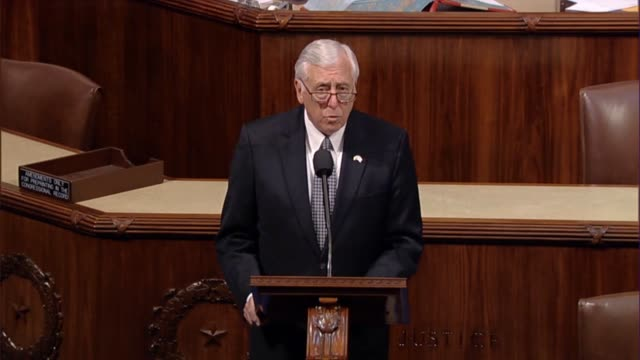 House Minority Whip Steny Hoyer of Maryland says on the House floor that in 1988 during Anthony Kennedy's confirmation President Ronald Reagan called...