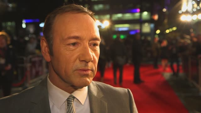 'house of cards' uk premiere sizzle ntsc at 'house of cards' uk premiere at odeon leicester square on january 17 2013 in london england - netflix stock videos & royalty-free footage
