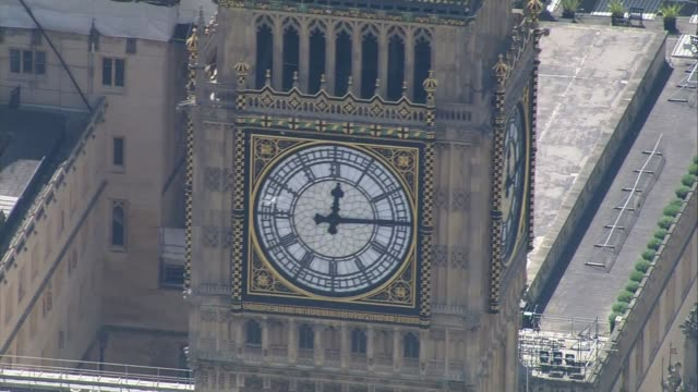 house of commons diversity; air views houses of parliament - parlamento britannico video stock e b–roll