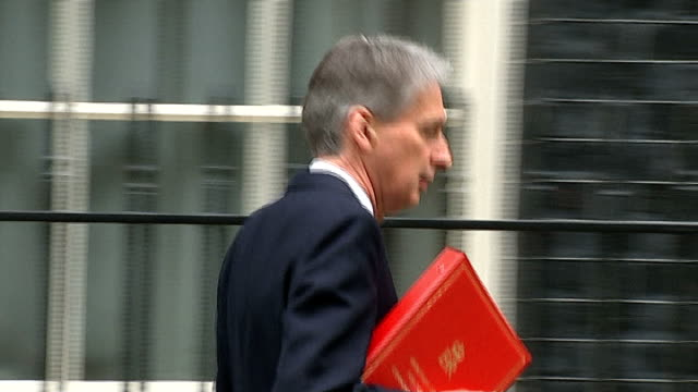 House of Commons to vote on Air Strikes against Islamic State in Iraq General views of Houses of Parliament at night Philip Hammond MP along towards...