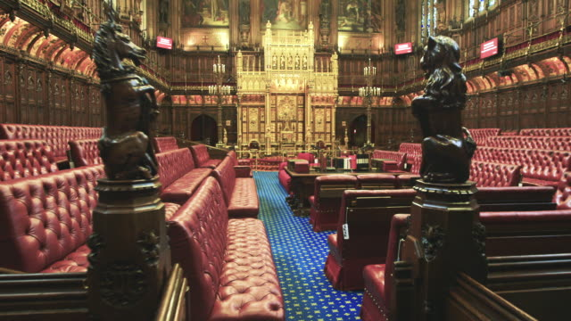 house of lords interior - inside of stock videos and b-roll footage