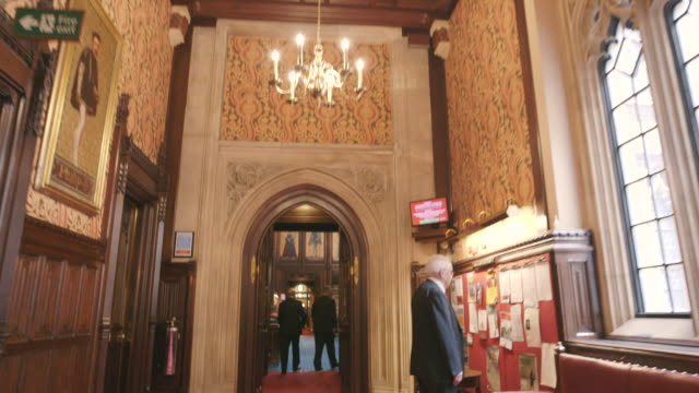 House Of Lords Interior, Westminster, UK