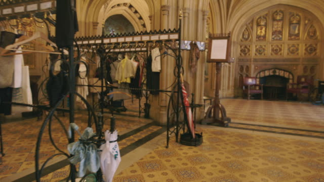 house of lords interior, westminster, uk - coathanger stock videos & royalty-free footage