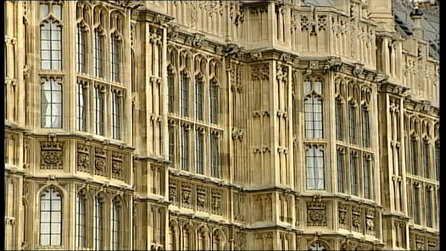 lords speaker election campaign ext lord redesdale interview sot the job comes with a large salary and an aprtment when the job is simply sitting on... - throne stock videos & royalty-free footage