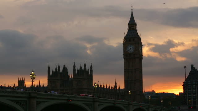 House of Parliament and Big Ben across the Thames at Dusk 2