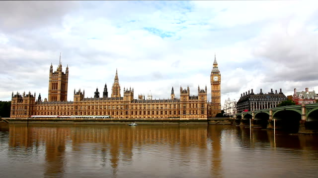 house of parliament, weitwinkelaufnahme - parliament building stock-videos und b-roll-filmmaterial