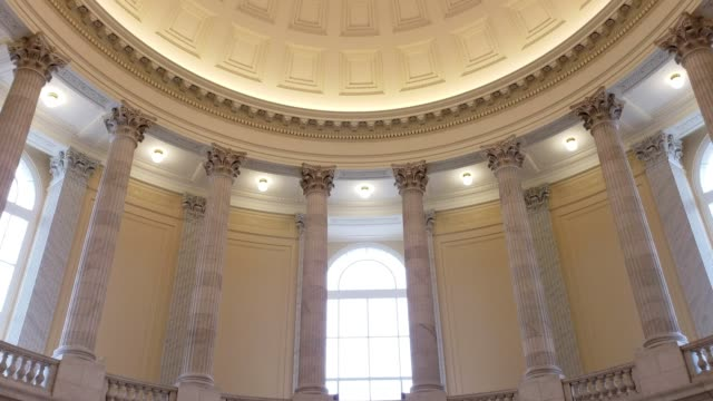 u.s. house of representatives cannon office building rotunda in washington, dc - united states congress stock videos & royalty-free footage