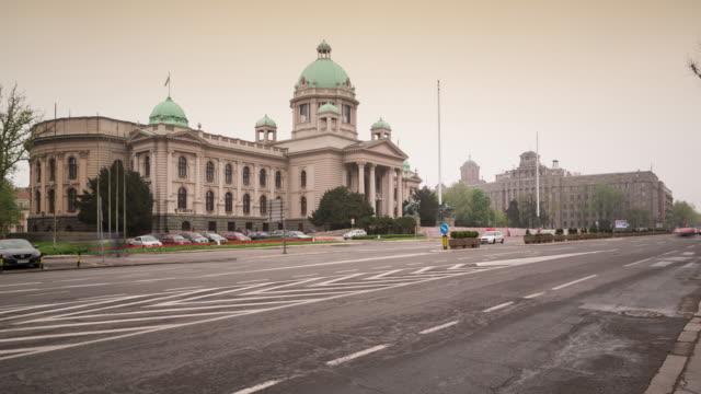 Huis van de nationale vergadering van Servië, Belgrado