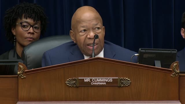 House Oversight and Reform Committee Chairman Elijah Cummings of Maryland says in concluding a hearing on migrant family separation that he tells his...