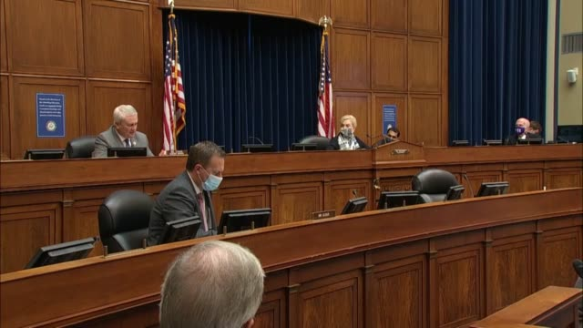 house oversight and reform committee ranking member jamie comer says at the first of two hearings with pharmaceutical executives that the policy... - distorted stock videos & royalty-free footage
