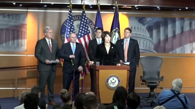House Republican Conference Chair Cathy McMorris Rodgers says all are saddened by the shooting at a church in Sutherland Springs Texas in opening a...