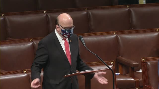 house rules committee chairman jim mcgovern of massachusetts says in closing debate on a rule to put a resolution allowing remote proxy voting and a... - partisan politics stock videos & royalty-free footage