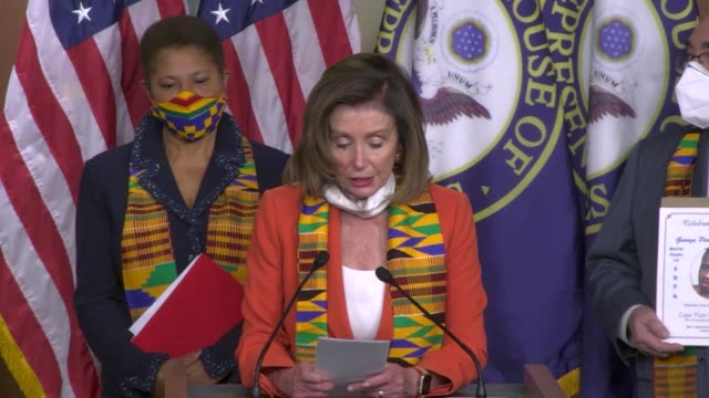 house speaker nancy pelosi of california says at a press conference to introduce justice in policing act not to settle for anything less than... - lynching stock videos & royalty-free footage