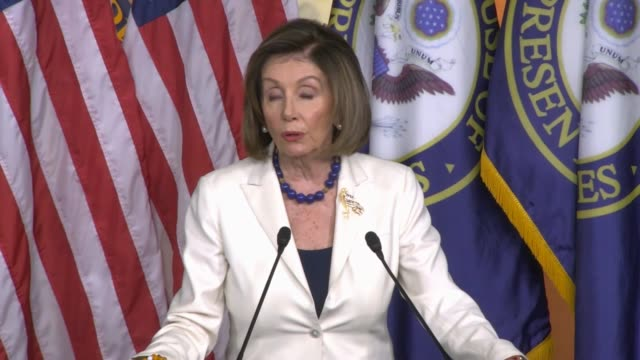 house speaker nancy pelosi of california says at a weekly press conference hours after formally directing committee chairs to draft impeachment... - whistleblower human role stock videos & royalty-free footage