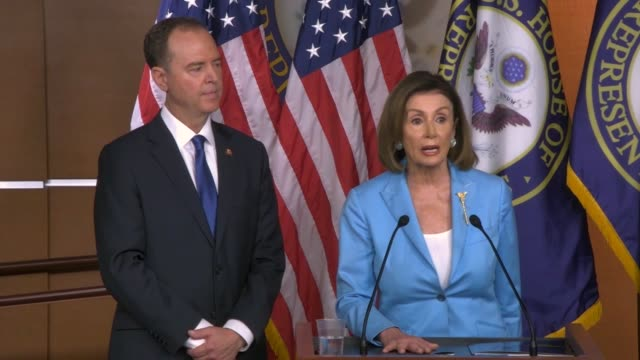house speaker nancy pelosi of california tells reporters at a weekly press conference that when benjamin franklin left independence hall people asked... - benjamin franklin video stock e b–roll