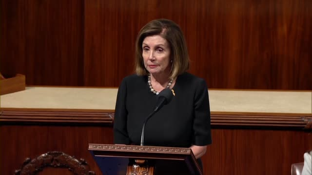 house speaker nancy pelosi says in debate on a resolution demanding that a whistleblower complaint against president donald trump be given to the... - complaining stock videos & royalty-free footage