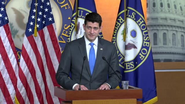 House Speaker Paul Ryan of Wisconsin goes before the cameras hours after breaking news he would retire from Congress after 20 years in Congress Ryan...