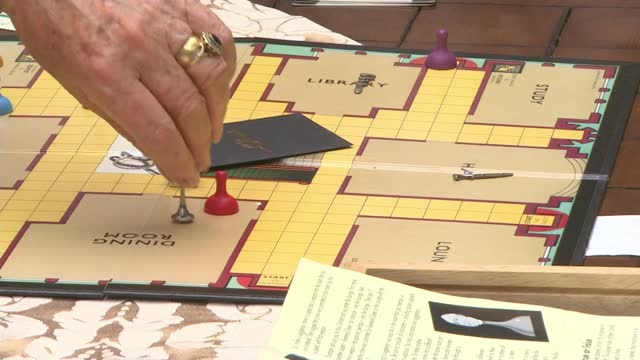 house that inspired murder mystery board game cluedo goes up for sale; england: east sussex: brighton: rottingdean: tudor close: ext general views of... - mystery stock videos & royalty-free footage