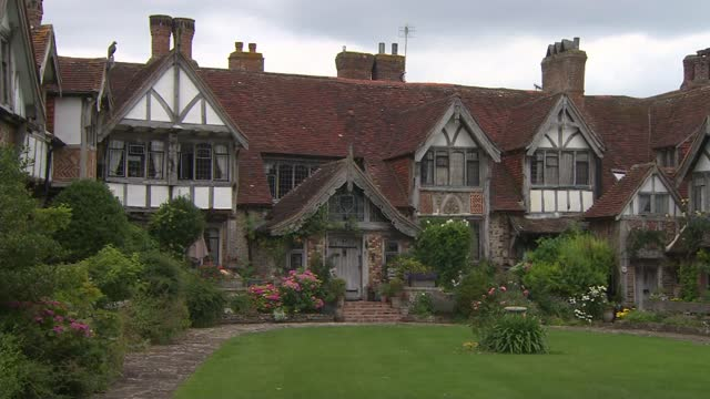 house that inspired murder mystery board game cluedo goes up for sale; england: east sussex: brighton: rottingdean: tudor close: int hand holding... - mystery stock videos & royalty-free footage