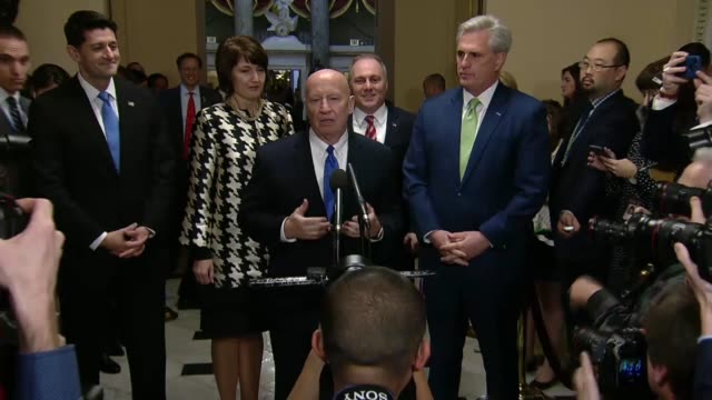house ways and means committee chairman kevin brady says america would leapfrog into the best place to plan for the next job with the next business... - leapfrog stock videos and b-roll footage