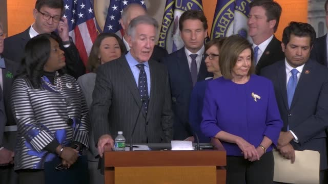 house ways and means committee chairman richard neal is asked whether americans could go into mexican car plants to verify labor protections in the... - verification stock videos & royalty-free footage