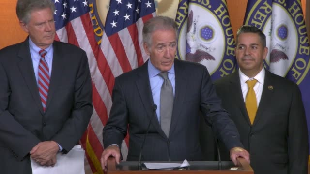 house ways and means committee chairman richard neal says at a press conference on a prescription drug pricing bill that democrats are proposing... - conformity stock videos & royalty-free footage