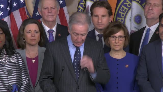 house ways and means committee chairman richard neal says at a press conference about the usmca trade agreement the deal was more than a triumph from... - verification stock videos & royalty-free footage