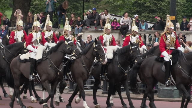 Household Cavalry  at Buckingham Palace