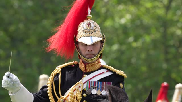 GBR: The Household Cavalry Face Final Test ahead of Queen's Birthday