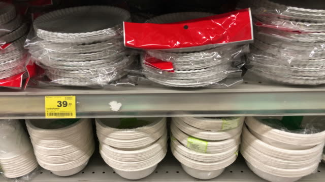 household product equipment on shelf - household equipment stock videos & royalty-free footage