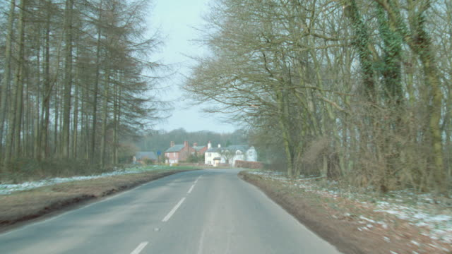houses and forests line a highway. - boundary stock videos & royalty-free footage