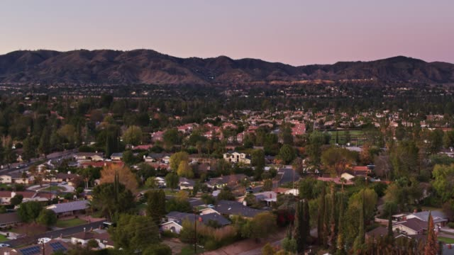 Houses in Northridge, CA - Aerial Establisher