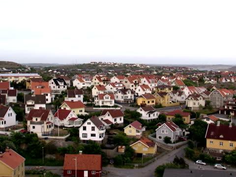 Houses in Smogen Bohuslan Sweden.