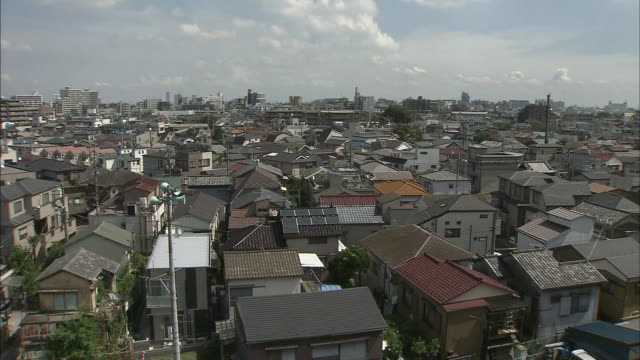 houses in tokyo katsushika - residential district stock videos & royalty-free footage