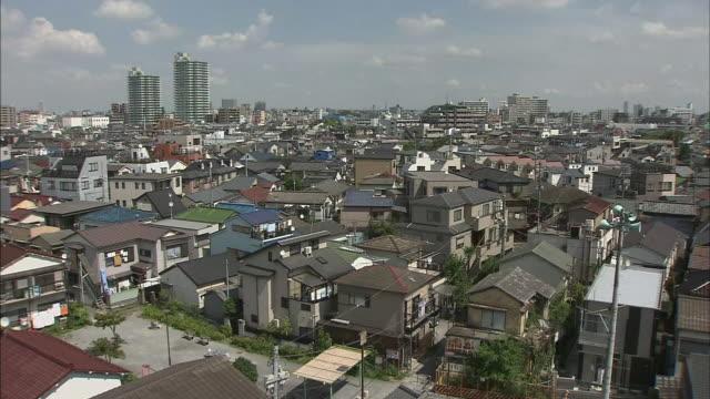 houses in tokyo katsushika - 住宅地点の映像素材/bロール