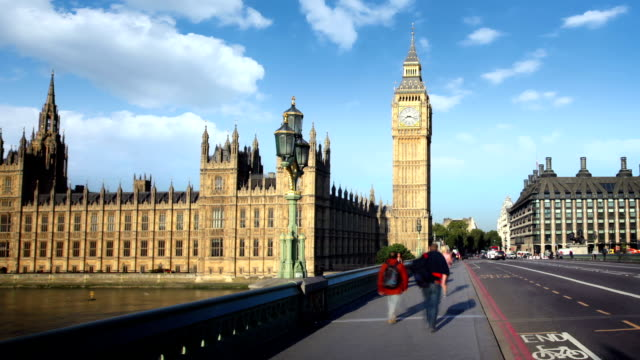 houses of parliament and big ben, london - westminster bridge stock videos and b-roll footage