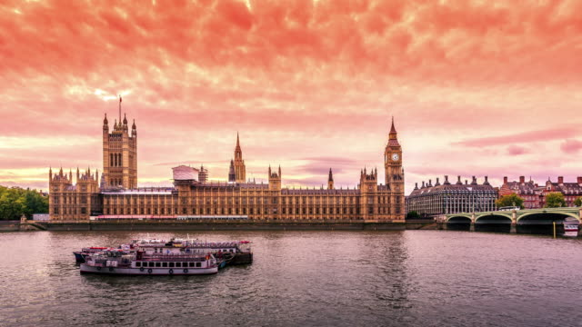 Houses of Parliament day to night